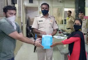 Sanitizer Distribution To Police Stations